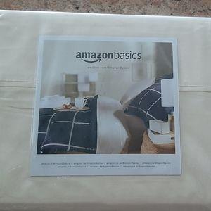 KING SZ- Amazon basics pillow cases-NEW-